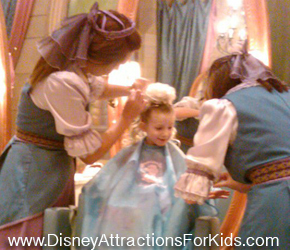 Magic Kingdom, Disney World, Cinderella's Castle, Bibbidi Bobbidi Boutique